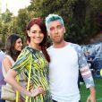 Lance Bass à la soirée Just Jared Summer Party au Pink Taco à West Hollywood, le 12 juillet 2014.