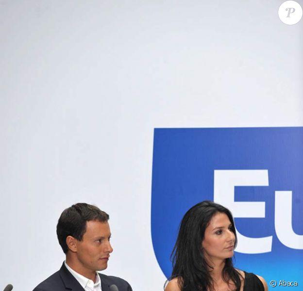 Marc-Olivier Fogiel et Marie Drucker