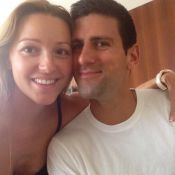 Novak Djokovic : Instantané de bonheur avec son épouse Jelena