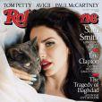 """Lana Del Rey en couverture du """"Rolling Stone"""" américain, juillet 2014."""