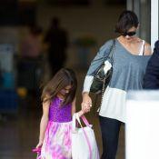 Katie Holmes : De retour à New York avec Suri, son adorable princesse de 8 ans