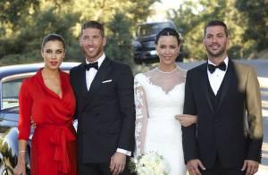Sergio Ramos au mariage de son frère : Papa élégant avec sa sublime Pilar Rubio
