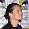 Orlando Bloom au panel du film Le Hobbit : La Bataille des Cinq Armées au Comic-Con de San Diego, le 26 juillet2014.