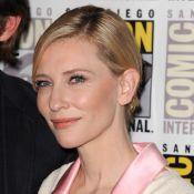 Cate Blanchett divine devant les complices Evangeline Lilly et Orlando Bloom