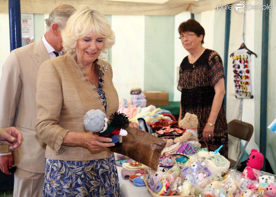 Le prince Charles et Camilla Parker-Bowles visitaient le 30 juillet