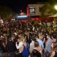 Exclusif - Le VIP Room, comble pour le passage de Chris Brown. Saint-Tropez, le 31 juillet 2014.