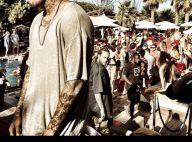 Chris Brown à Saint-Tropez : Il profite du soleil et s'éclate en boîte de nuit