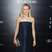 Kristen Bell enceinte : Une future maman angélique et simple sur tapis rouge