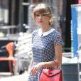 Taylor Swift sort de sa séance de gym à New York, le 1er août 2014.