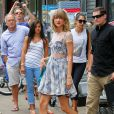 Taylor Swift se promène à New York le 30 juillet 2014.