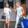Taylor Swift et Karlie Kloss ont déjeuné ensemble au restaurant Sarabeth à New York. Le 14 juillet 2014