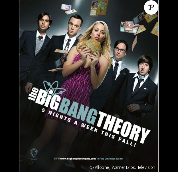 Photo promo de The Big Bang Theory.