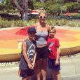 Britney Spears et ses fils Sean Preston et Jayden James