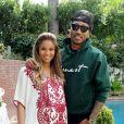 La chanteuse Ciara et le rappeur Future lors de leur baby shower à Los Angeles, le 22 mars 2014.
