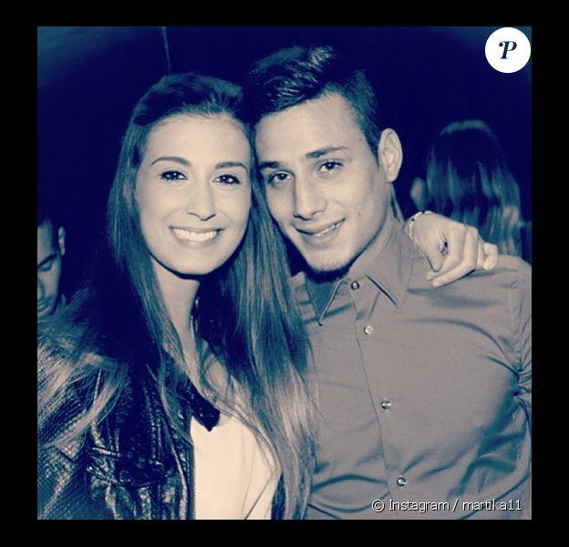 Martika dévoile visage de son nouvel amoureux, Tiago, sur son compte Instagram. Avril 2014.
