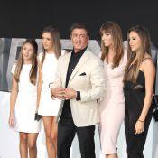 Sylvester Stallone et ses ravissantes filles : Un papa comblé et fier