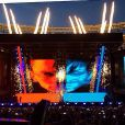 Rihanna s'est produit avec Eminem au Metlife Stadium à East Rutherford, New Jersey, les 16 et 17 août.