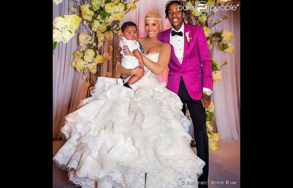 Amber Rose et Wiz Khalifa s souvenirs du mariage