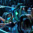 Nicki Minaj interprète Anaconda lors des MTV Video Music Awards 2014 au Forum. Inglewood, Los Angeles, le 24 août 2014.