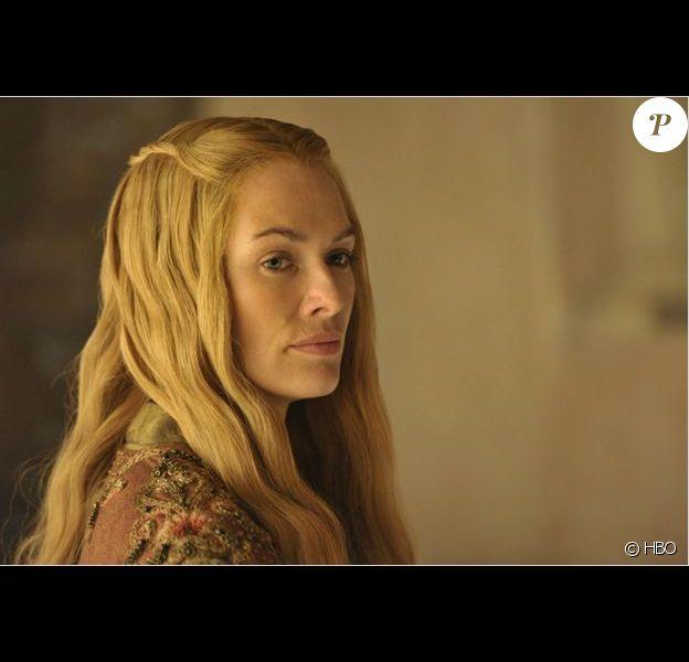 """Cersei Lannister, incarnée par Lena Headey, dans la saison 4 de """"Game Of Thrones"""", diffusée au printemps 2014."""