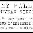 """Le nouveau single de Johnny Hallyday, premier extrait de l'album """"Rester vivant"""", sera dévoilé le 1er septembre 2014."""