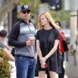 Andy Roddick et Brooklyn Decker à Los Angeles, le 17 avril 2014