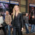 Brooklyn Decker au The Late Show With David Letterman à New York le 8 avril 2014