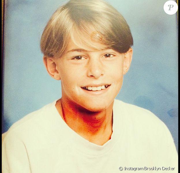 Brooklyn Decker a publié une photo d'Andy Roddick jeune à l'occasion de son anniversaire le 30 août 2014