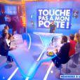 Cyril Hanouna lors de la première de la saison 3 de Touche pas à mon poste sur D8, le lundi 1er septembre 2014.