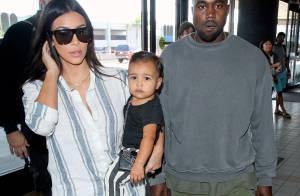 Kim Kardashian, Kanye West et leur petite North : Voyage stylé en famille