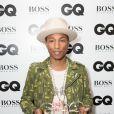 "Pharrell Williams - Soirée ""GQ Men of the Year Awards 2014"" à Londres, le 2 septembre 2014"