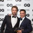 """Gerard Butler et Andre Balazs - Soirée """"GQ Men of the Year Awards 2014"""" à Londres, le 2 septembre 2014"""