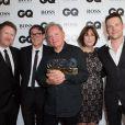 """New Order - Soirée """"GQ Men of the Year Awards 2014"""" à Londres, le 2 septembre 2014"""