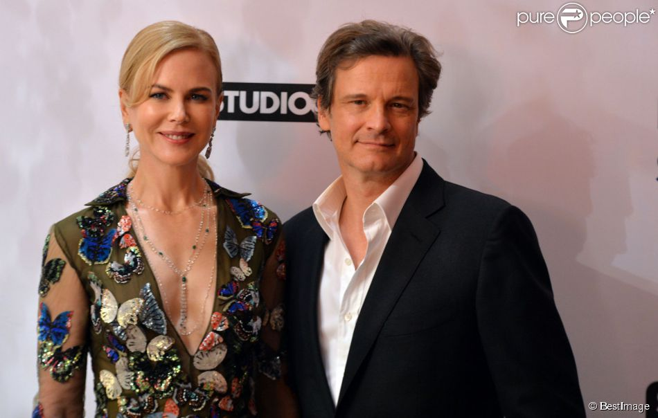 "Nicole Kidman, Colin Firth - Projection du film ""Before I Go To Sleep"" à Londres, le 4 septembre 2014."