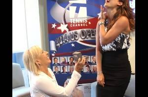 Martina Navratilova (57 ans) fiancée à Julia : Sa demande en mariage à l'US Open