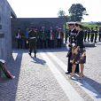 La princesse Mary et le prince Frederik de Danemark ont déposé une gerbe le 5 septembre 2014, au Kastellet de Copenhague, lors la cérémonie du jour du drapeau en   commémoration des soldats danois tombés au champ d'honneur.