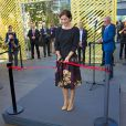 La princesse Mary de Danemark présidait l'inauguration d'un salon sur le logement social, le 5 septembre 2014 au Bella Center à Copenhague.