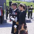 La princesse Mary de Danemark et le prince Frederik de Danemark ont déposé une gerbe le 5 septembre 2014, au Kastellet de Copenhague, lors la cérémonie du jour du drapeau en   commémoration des soldats danois tombés au champ d'honneur.