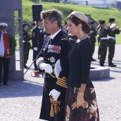Princesse Mary : Stylée et recueillie à la citadelle pour le jour du drapeau