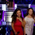 Virginia et Victoria dans The Voice Kids, le 13 septembre 2014 sur TF1.
