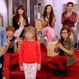 Carla et Gloria dans The Voice Kids, le 13 septembre 2014 sur TF1.