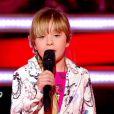 Gloria dans The Voice Kids, le 13 septembre 2014 sur TF1.