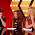 Némo, Frankee et Chloé dans The Voice Kids, samedi 13 septembre sur TF1.