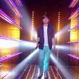 Hugo dans The Voice Kids, samedi 13 septembre sur TF1.