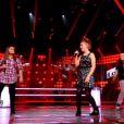 Un trio dans The Voice Kids, le 13 septembre 2014 sur TF1.