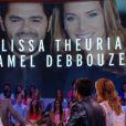 Jamel Debbouze et Melissa Theuriau invités du Grand Journal, le 10 septembre 2014, sur Canal+
