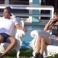 Nathalie et Vivian dans la quotidienne de Secret Story 8, le jeudi 11 septembre 2014, sur TF1