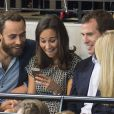 James Middleton et Pippa Middleton lors des Invictus Games à Londres, le 12 septembre 2014.