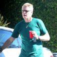 Exclusif - Joe Simpson à la fête d'anniversaire d'Eric Johnson, à Beverly Hills, le 15 septembre 2014.