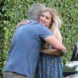 Exclusif - Ashlee Simpson à la fête d'anniversaire d'Eric Johnson, à Beverly Hills, le 15 septembre 2014.